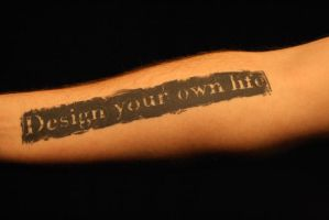 Design your own life by boete