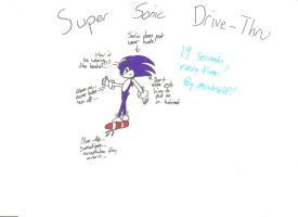 Super Sonic Drive-Thru by TeamOf1