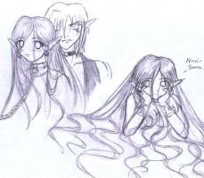 Lykia Character Sketches by Leara