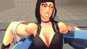 USF4 Juri in trouble by Themilkguy