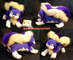 Skuntank Plush - NO FAV by PokePlushProject