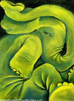 Squished Elephant by MuralsWithoutBorders