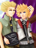 -KH2- Best Friends Forever by Kingdom-Hearts-Yaoi