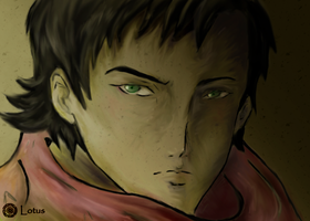 Ergo Proxy - Vincent by LOTUS-ink