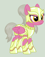 Lieutenant Silvermane - MLP Adoptable Auction by MonkFishyAdopts