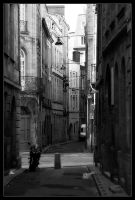 Bordeaux Back Alley by Wivelrod