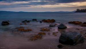 Slow Exposure: Derwent River at Sunset (8) by KittenKiss