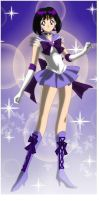 Hotaru Tomoe/Sailor Saturn (Sailor Senshi Maker) by CardCaptorMiele