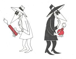 Spy vs Spy by TalentlessHacked