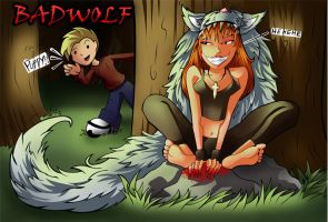 Badwolf by culdesackidz