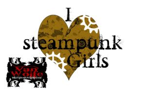 i love steampunk girls by Vanwolfe