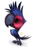 Day 593. Black Cockatoo by Cryptid-Creations