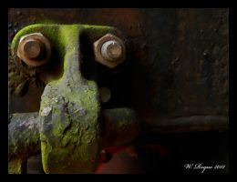 green corrosion by wroquephotography