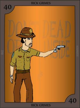 Rick Grimes by Nerdroditie