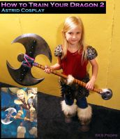 HTTYD Astrid Cosplay WIP by SKSProps