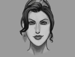 Hera (face) by crellan00