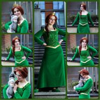 Princess Fiona Cosplay Shoot Set by BexiBeans