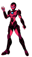 Iron Woman by VaderNihilus