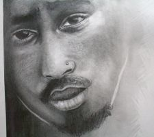 Look into my eyes.2pac.MaeLoD.2012.WIP by MaeLoD