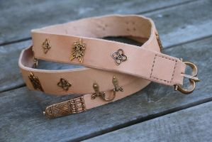Decorated belt by Noctiped