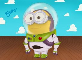 Buzz Minion by shaisketches