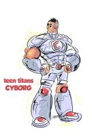 Titans: Cyborg by kross29