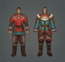 Priden Bard Costumes by any-s-kill