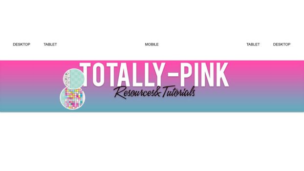 YouTube Banner Template by TotallyPinkk by TotallyPinkk