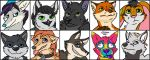 Icon Batch #2 by Rikkoshaye