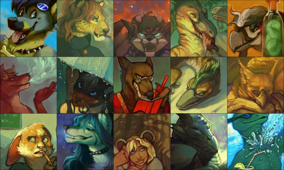 Icons and such by kalamu