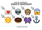 Cursores Emoji's Whatsapp- NP by NowPhotoshop