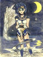 Sailor Mercury by WatchTower513