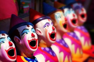 Clowns by CouchyCreature