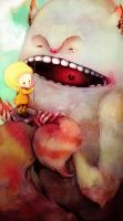 Monster Toothache by flyk
