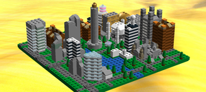 Lego Skyline by ACity