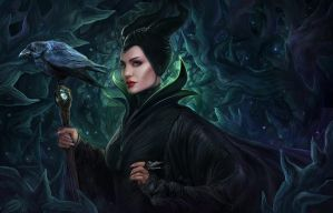Maleficent by dandelion-s