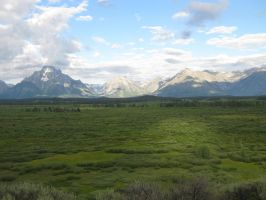 Grand Tetons Stock 7 by CoolCurry-Stock