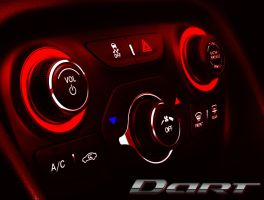 Dodge Dart Dash #3 with Logo by VelvetWaters744