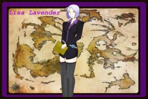 RWBY Canon Character- Reporter Lisa Lavender!!! XD by JettErebus