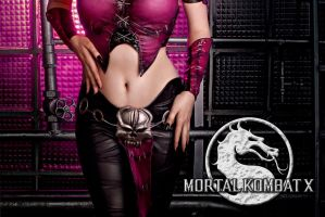 Mileena MKX cosplay teaser by Jane-Po