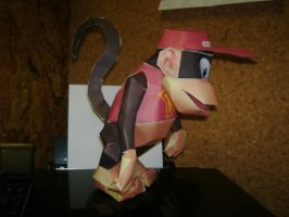 Papercraft Diddy Kong 2 by Esteban1988
