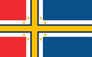 Scandinavian Flag by DigitalismIsMyCause