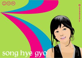 song hye gyo by indahandriani