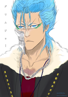 For Blackstorm to Pet: GRIMMJOW by PeachBerryDivision