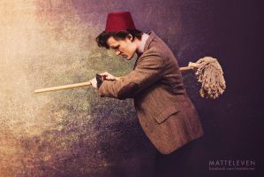 11th Doctor - The Big Bang Cosplay by Matteleven