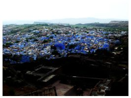 jodhpur - the blue city 02 by burninlab