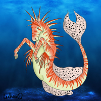 Lion-Fish Inspired Hippocampus by xTrippingOnYoux