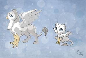 [Closed] New Adoptables: Gryphons by MySweetQueen