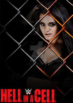 Custom WWE HIAC Poster (Paige) by AbiMotionless