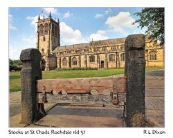 Stocks at St Chads Rochdale rld 51 dasm by richardldixon